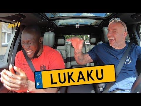 Romelu Lukaku - Bij Andy in de auto! (English subtitles)
