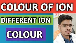 Tricks to find out colour of ions