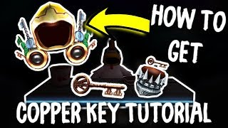 ROBLOX HOW TO GET THE COPPER KEY! (Golden Dominus - Tutorial)