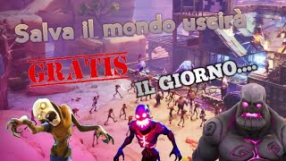 Save the World será lanzado GRATIS... Fortnite