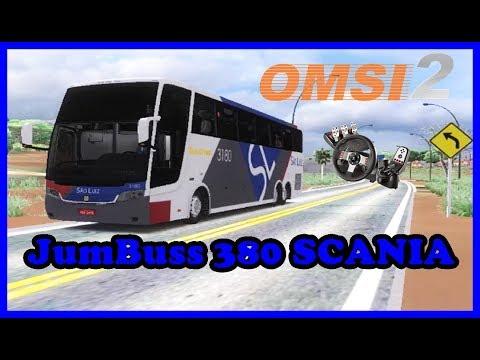 OMSI 2 - Busscar JumBuss 380 SCANIA - BRUMADO X LIVRAMENTO- MAPA BRASIL VIAGEM-BA