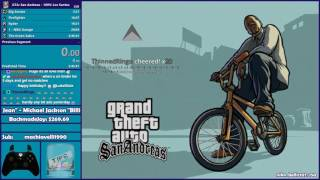 GTA San Andreas 100% Speedrun Practice - Hugo_One Twitch Stream - 7/24/2017