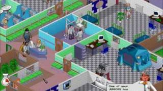 Theme Hospital Gameplay (PC)