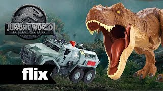 Jurassic World: Fallen Kingdom - Toys Revealed