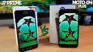 Galaxy J7 Prime VS Moto G4 Plus - Comparativa Video