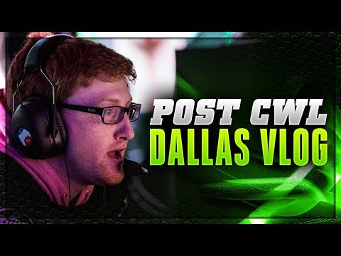 Post CWL Dallas VLOG