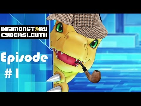 Digimon Story Cyber Sleuth Episode 1: The Matrix