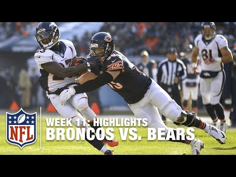 Broncos vs. Bears | Week 11 Highlights | NFL