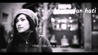 Video BIMBO-SENDIRI with lyric(cover) download MP3, 3GP, MP4, WEBM, AVI, FLV Juli 2018