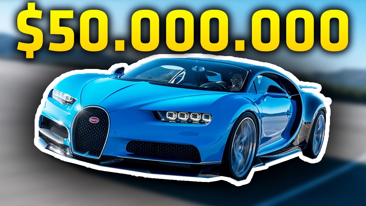$50.000.000 DOLAR ARABA! (EN PAHALI 10 ARABA) - YouTube