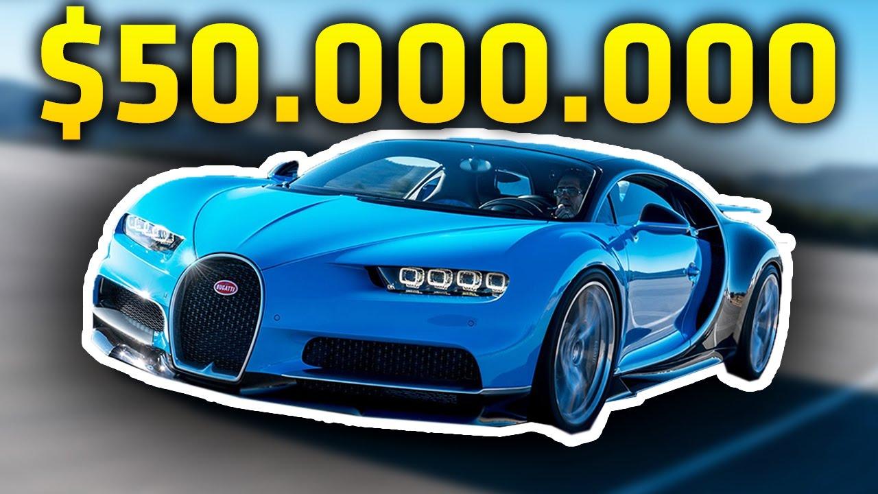 50000000 Dolar Araba En Pahali 10 Araba Youtube
