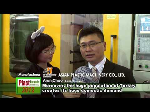 Plast Eurasia 2012_Interview With Taiwan Manufacturer-CHEN HSONG MACHINERY TAIWAN CO., LTD.