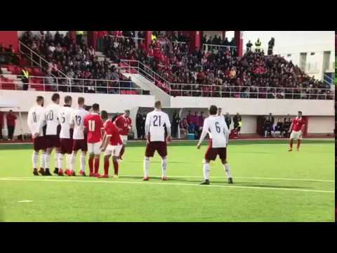 Football, Gibraltar beat Latvia 1-0