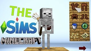 Monster School : The SIMS in Minecraft - Minecraft Animation