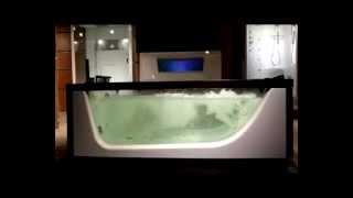 видео Ванна Doctor Jet (Доктор Джет) New Look Suprema (Супрема) DJ-SU 215*174 см из дерева для ванной комнаты