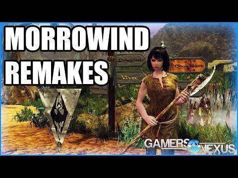 Morrowind Remakes - Skywind, OpenMW, & Rebirth