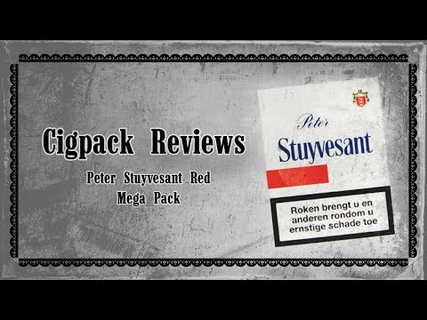 CIGPACKREVIEWS - Peter Stuyvesant Red Mega Pack (Dutch pack)