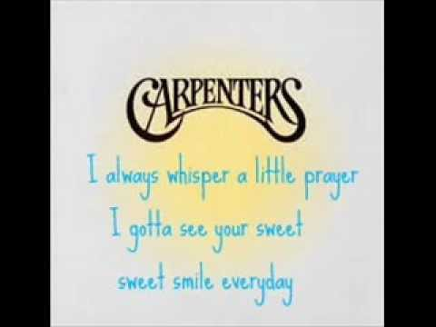 The Carpenters - Sweet Sweet Smile mp3
