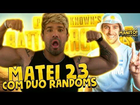 MATEI 23 NO PUBG COM DUO RANDOMS