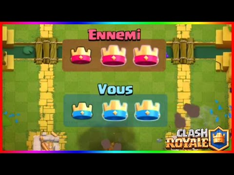 SECRET!! PEUT-ON FAIRE UNE ÉGALITÉ 3-3?! Clash Royale