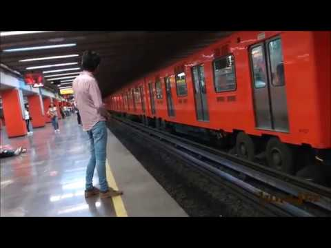 Metro Jamaica línea 9 CDMX