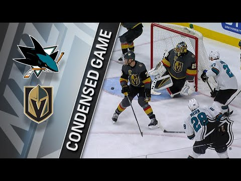 03/31/18 Condensed Game: Sharks @ Golden Knights