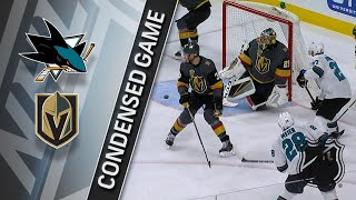 03/31/18 Condensed Game: Sharks @ Golden Knights