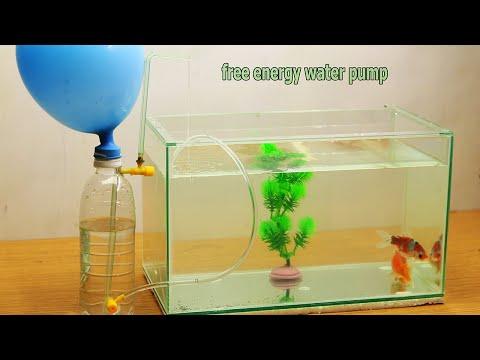 Free Energy Water Pump for Aquarium