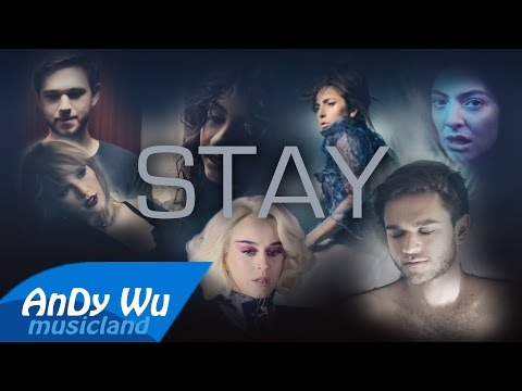 STAY (Megamix) | Zedd, Lady Gaga, Zayn, Taylor Swift, The Chainsmokers, Selena Gomez, Lorde & more