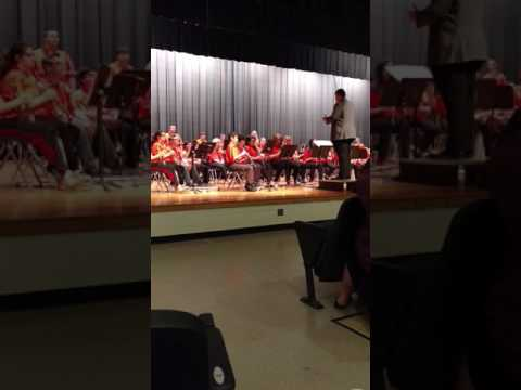 Chapmanville Middle School Band Region Five Festival/Ratings
