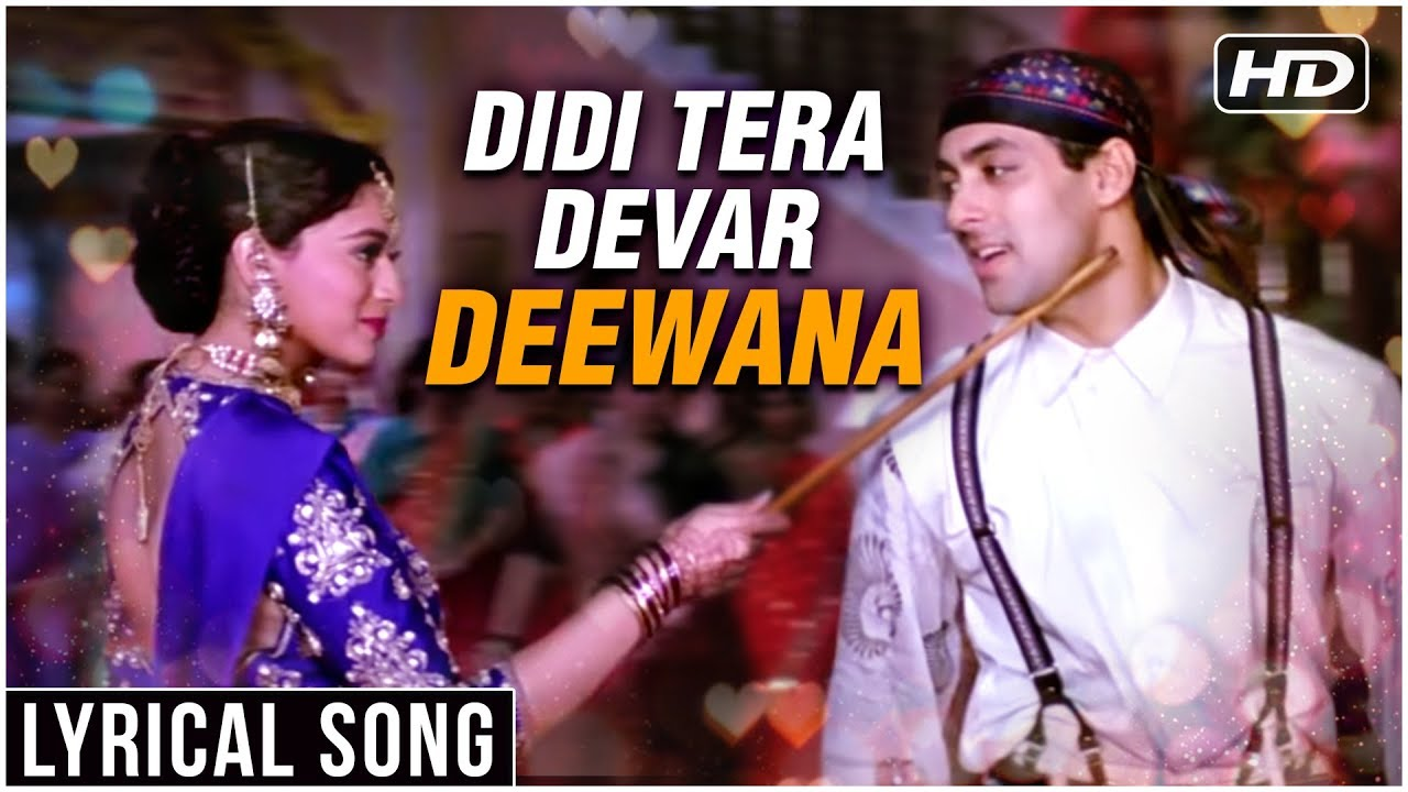 Download Didi Tera Devar Deewana | Lyrical Song | Hum Aapke Hain Koun | Salman Khan, Madhuri Dixit