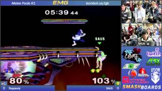 Saus vs Rhappsody   The Come Up   SSBM Pools