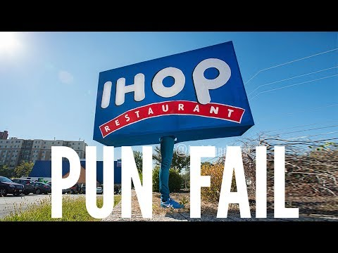 Don't ruin my pun, IHOP