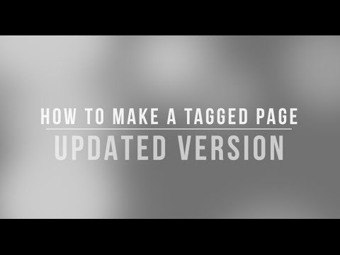 How To Make A Tagged Page On Tumblr  (UPDATED VERSION)