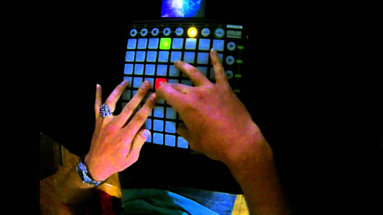 Launchpad - mashup skrillex (only with skrillex samples) - YouTube