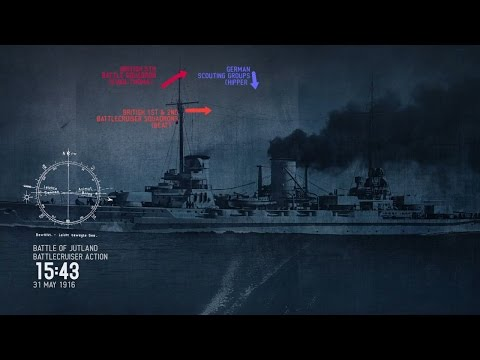 The Battle of Jutland Animation