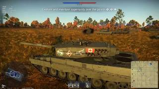 War Thunder Update 1.79 Leopard 2A4 Is A Monster Confirmed 7 Kill Game Leopard 2 Game Play