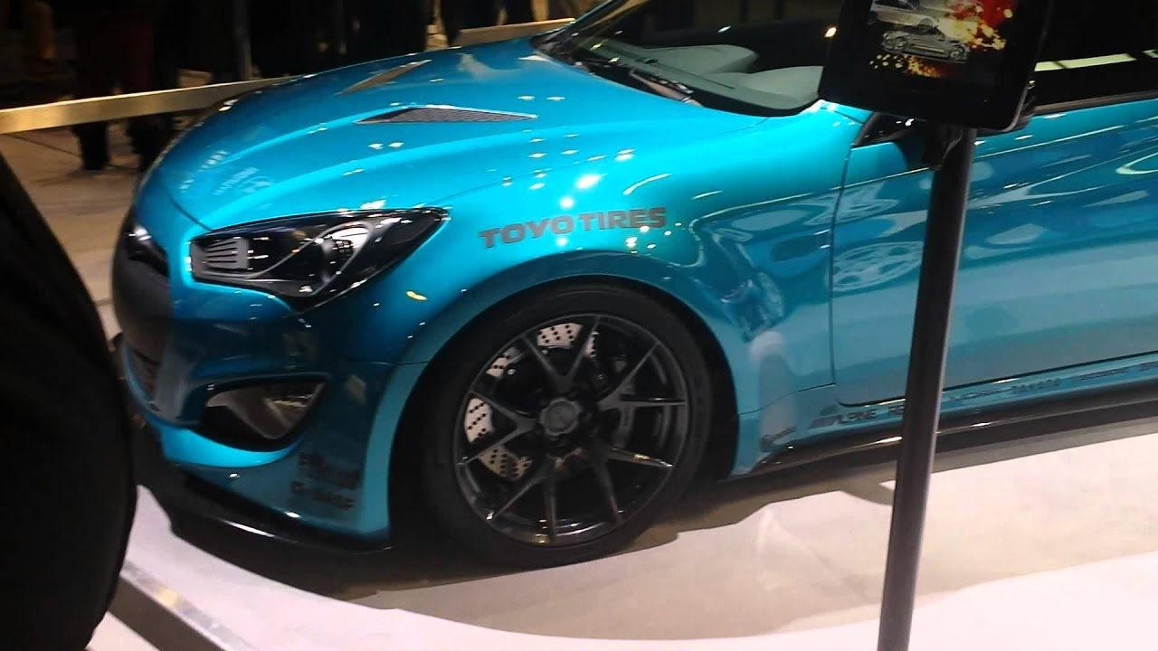 hyundai genesis coupe 2015 mccormick place auto show youtube. Black Bedroom Furniture Sets. Home Design Ideas