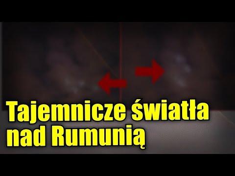 Niezwykłe światła na niebie zostały uwiecznione nad Rumunią
