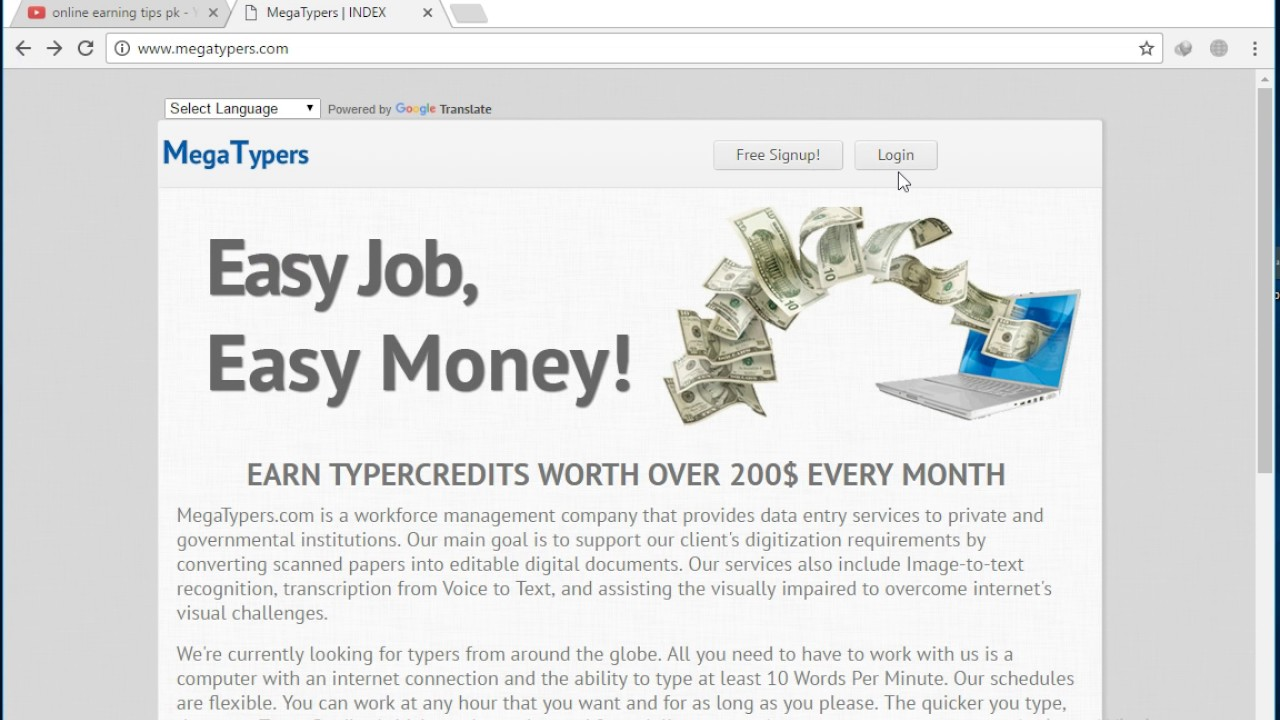 megatypers online typing jobs earn to  megatypers online typing jobs earn 200 to 500
