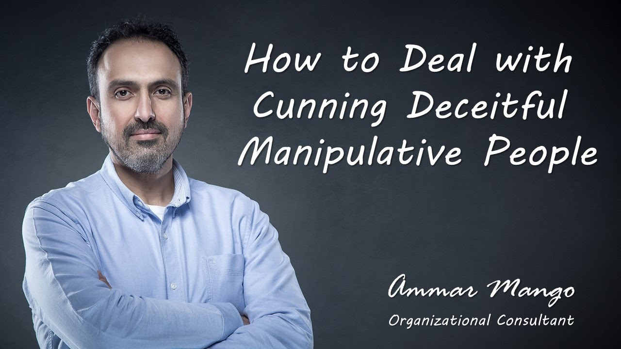 How to counter manipulate a sociopath