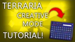 Terraria Creative Mode! - Cheat Sheet Mod Installation Tutorial