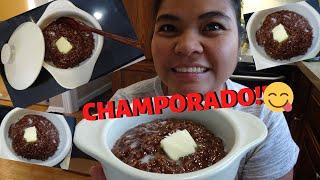 BUHAY AMERIKA: CHAMPORADO ESPESYAL NAGUSTUHAN NILA!! FIL-AM FAMILY VLOG