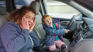 Grandma takes Adley on a SECRET SURPRISE Play Date!!