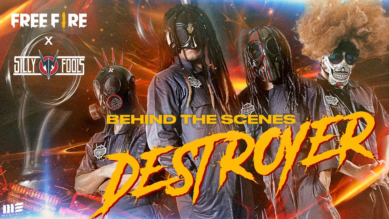 Behind The Scenes :DESTROYER - FREE FIRE x SILLY FOOLS