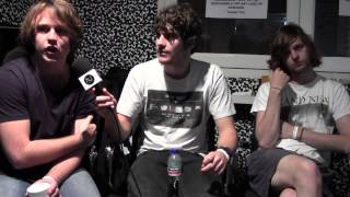 Interview: The Love Junkies (Perth) at Music Matters in Singapore.
