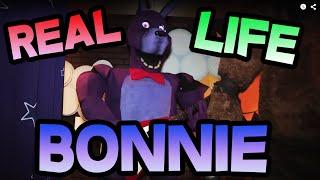 REAL LIFE BONNIE || FNAF BONNIE Animatronic in REAL LIFE