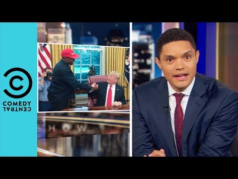Kanye West's Presidential Rant | The Daily Show With Trevor Noah