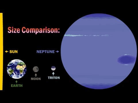 How Triton was captured by Neptune - Pluto and Charon new horizons nasa moon