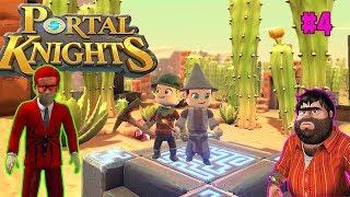 Örümcek Çocuk Örümcek bebek ve recep İvedik minecraft benzeri oyun olan portal knıghts oynuyor #4